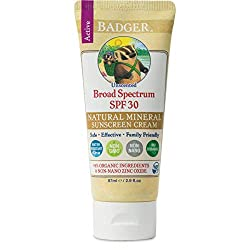 Badger Sport Unscented Sunscreen Cream Sonnencreme