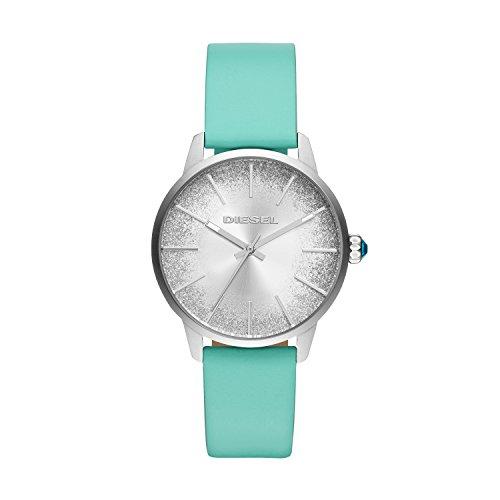 Diesel Dames Analoog Quartz Horloge met Lederen Band DZ5564