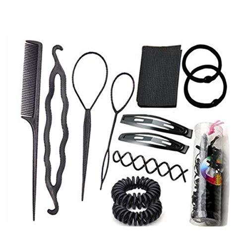 Cuhair DIY Magic Bun Shapers machine à queue de cheval support rapide Messy Chignon de cheveux chignon Outil de la coiffure Cheveux Shaper