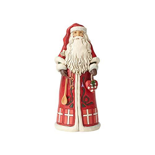 Enesco Figur Jim Shore Heartwood Creek Santa Around The World Dänisch 7