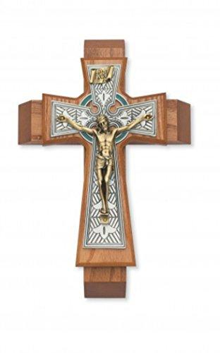 McVan Inc. 11' Walnut Celtic Sick Call - Décor Gift Religious 79-42661-MCVAN