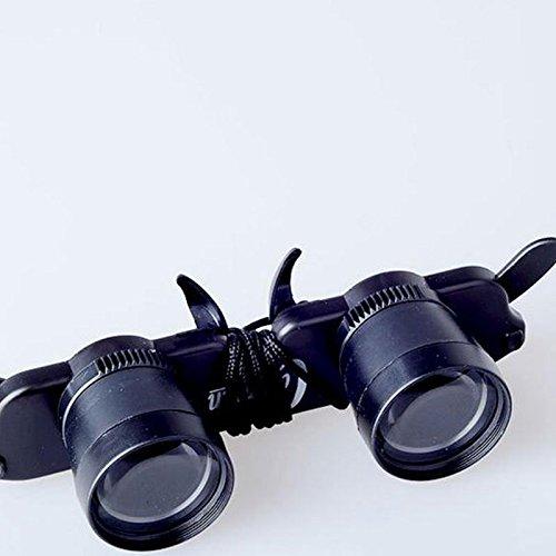 MSmask Teleskop-Brillen Lupe Brillen Fischen Wandern Konzert Oper Fernglas