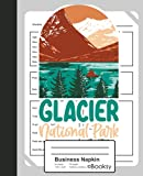 Business Napkin: Glacier National Park USA