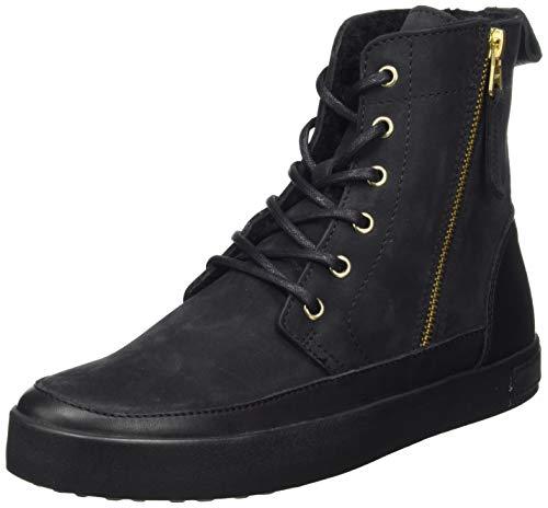 Blackstone Damen CW96 Hohe Sneaker, Schwarz (Coal Black Coal), 40 EU