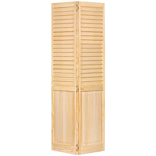Closet Door, Bi-fold, Louver Panel Plantation (36x80)