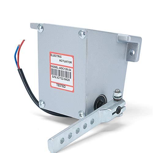 ADC120 12V 24V Controlador electrónico ACTUADOR DE Motor GOVORNOR Bomba DE Combustible Diesel GENSET Parte Lineal ROTORK Tipo Externo Actuador (Color : 12V)