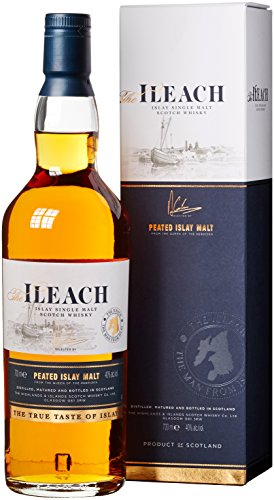 The Ileach Islay Single Malt Scotch Whisky (1 x 0.7 l) in Geschenkverpackung