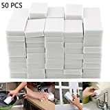 Idomeo 50Pcs/Set Household Sponge Eraser Cleaner Home Kitchen Multi-function Cleaning Tool Sponges