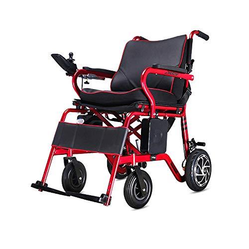 Elektrischer Rollstuhl, Rollstuhl für ältere Menschen, Allrad-Rollstuhl, 100kg Belastung, Lithium-Batterie Praktisch (Farbe : 700W+Cushion)