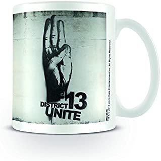 The Hunger Games Mockingjay Part 2-District 13 Rebellion Ceramic Mug, Multi-Colour, 11 oz/315 ml