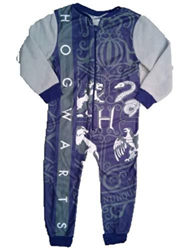 Schlafanzug für Jungen aus Fleece, Einteiler, für Kinder