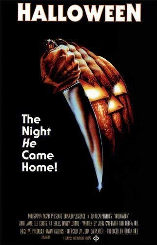 Halloween Poster Movie (16 x 25 Inches - 40cm x 63cm) (1978) (Style D) Print Sticker Retro Unframed Wall Art Gifts