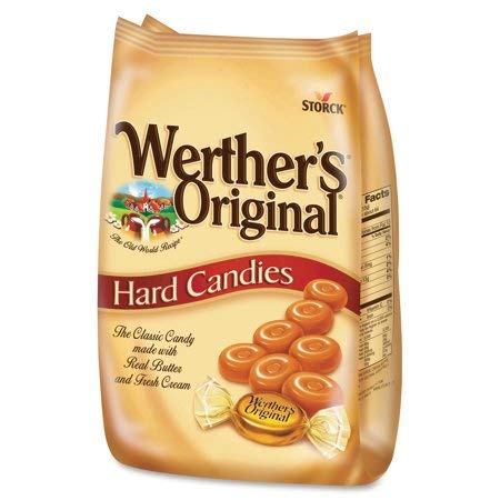 Storck Werther's Original Ranking TOP16 Caramel Hard Weekly update Candies - Oz. of Pack 34