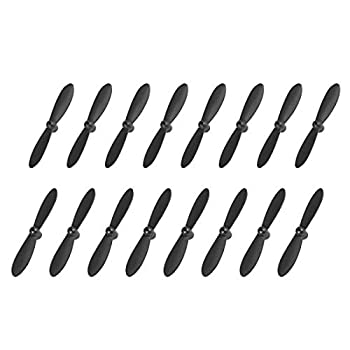 uxcell RC Propellers CW CCW 2-Vane Mini for Cheerson Only CX-10 CX-10A Quadcopter Black 4 Sets
