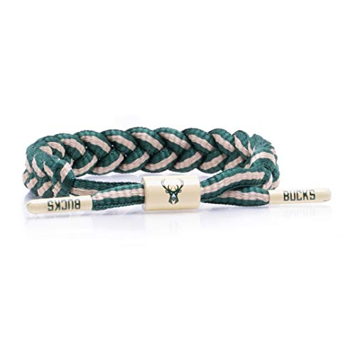 Rastaclat NBA Milwaukee Bucks Medium/Large Braided Bracelet