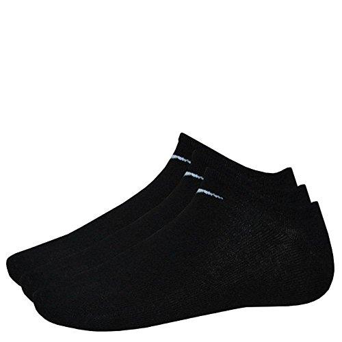 Nike 9 Paar Sneaker-Socken NO Show schwarz M (38-42) SX2554-001