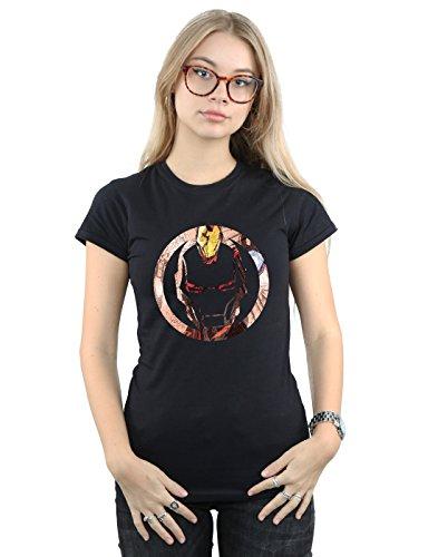 Marvel Mujer Iron Man Montage Symbol...