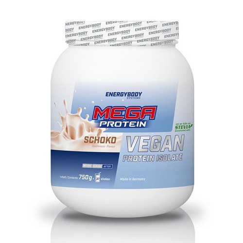 Energybody Mega Protein Soja 750g Dose Vanille