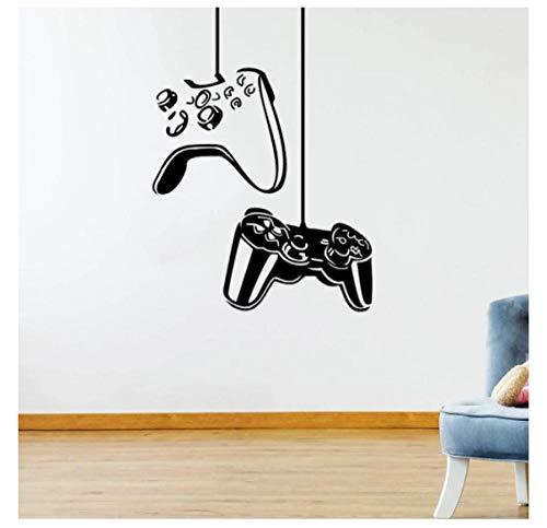 Desmontable Pegatinas De Pared DIY Vinilo Pegatina Playstation Controller Game Decals Boy Kids Rooms Mural Home Room Decoración 57X79cm