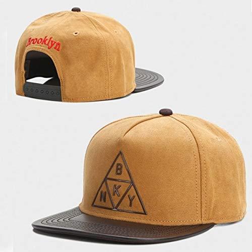 Sombrero Snapback Hombres Mujeres Adultos Hip Hop Headwear al Aire Libre Casual Gorra de béisbol para el Sol-A28-Adjustable