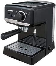 Geepas Powder Combination Coffee Machine,Black - GCM6108