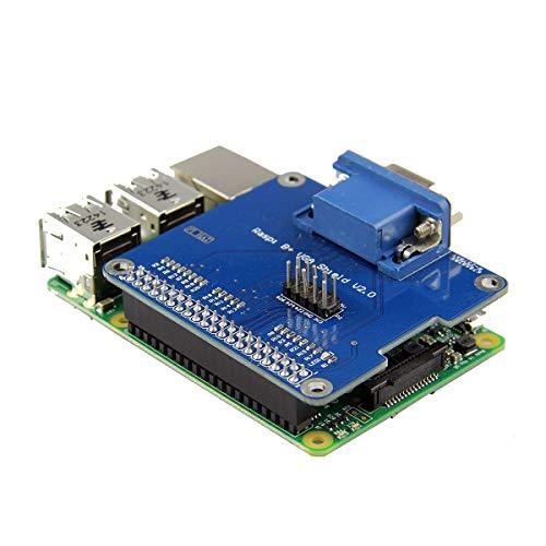weichuang Electronic Accessories VGA Shield V2.0 Erweiterungsplatine für RPi 3B / 2B / B+ / A+ Elektronikzubehör Elektronikzubehör