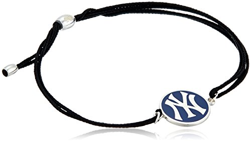 Alex and Ani Kindred Cord New York Yankees Sterling Silver Bangle Bracelet