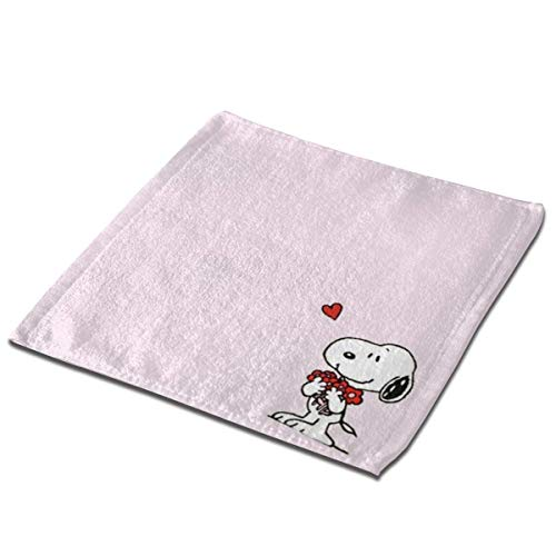 not applicable Mikrofaser quadratisches Tuch, Snoopy Soft Skin-Frendly Sweat Handtuch Gesicht Handtuch Hand Handtuch-