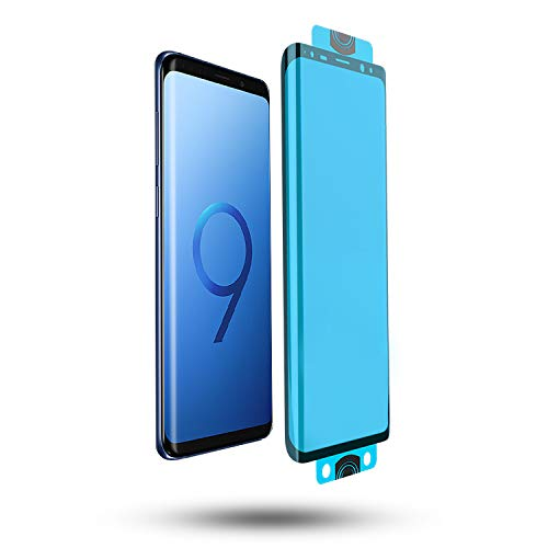 Thorax Pellicola Samsung Note 9 Full Glue Copertura Completa Vetrino Antiurto Antigraffio Resistente come Vetro Temperato Samsung Note 9 Protettivo Protezione Schermo Flessibile Compatibile con Cover