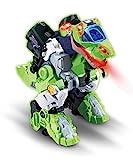 VTech Switch & Go Dinos Overseer The T-Rex Kids Toy Interactive Preescolar Dinosaur Toy Que se Convierte en un Robot, Juguete Educativo para niños y niñas de 3, 4, 5, 6+ años