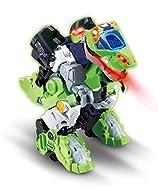 VTech Switch & Go Dinos Overseer the T-Rex Kids Toy, Interactive Preschool Dinosaur Toy that Switche...