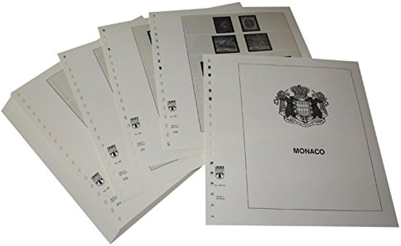 Lindner T Vordruckbltter T186 92 Monaco - Jahrgang 1992 bis 1998