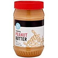 Amazon Brand - Happy Belly Creamy Peanut Butter, 40 Ounce