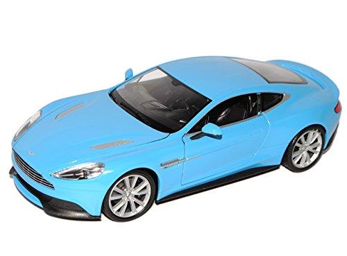 test Wellie Aston Martin Vanquish Blue Coupé, persönliche Registrierung vom Modell 1/24 2012 Deutschland