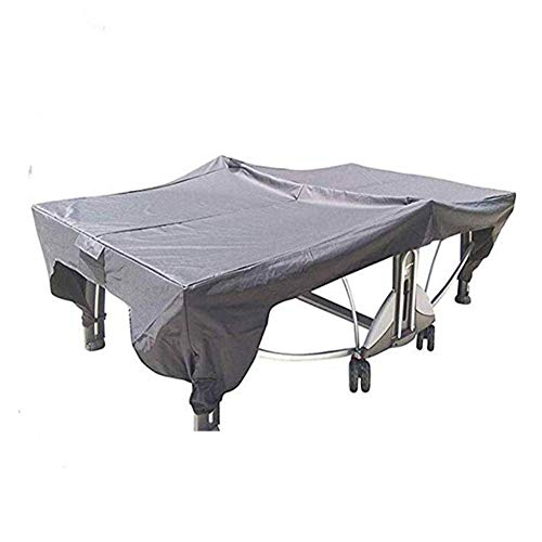 Funda para Mesa de Ping-Pong Oxford Impermeable Anti-UV Protección Cubierta de Tenis de Mesa,280 * 153 * 73cm