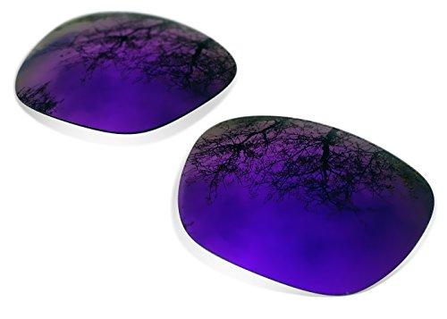 SURE Polarisés Verres de Rechange Pour Oakley Holbrook (Purple Mirror)
