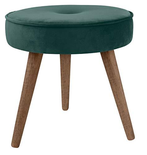 DAY – USEFUL EVERYDAY taburete, silla, tocador, tocador, diseño escandinavo, poliéster, carga máxima 120 kg, diámetro 40 cm
