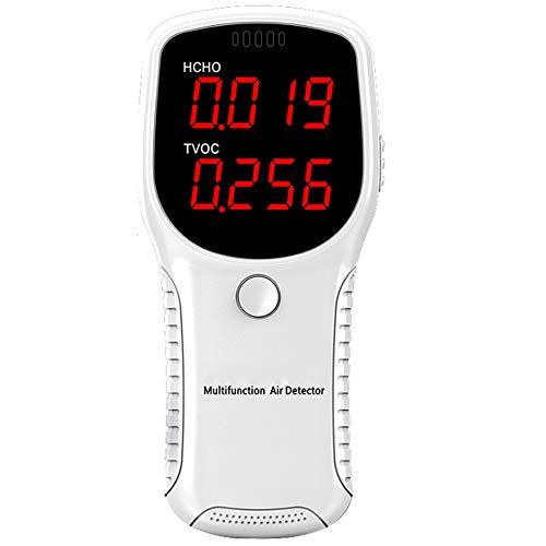 KKmoon Luftqualität Messgerät Formaldehy HCHO Messgerät Testgerät für Feinstaub PM2,5, PM10 TVOC präzises Testen für Haus Büro Unternehmen Regierung Schule und Auto
