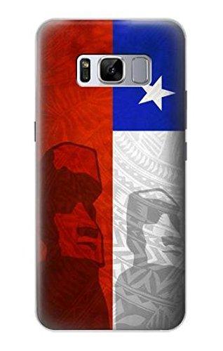 Chile Football Soccer Flag Funda Carcasa Case para Samsung Galaxy S8 Plus