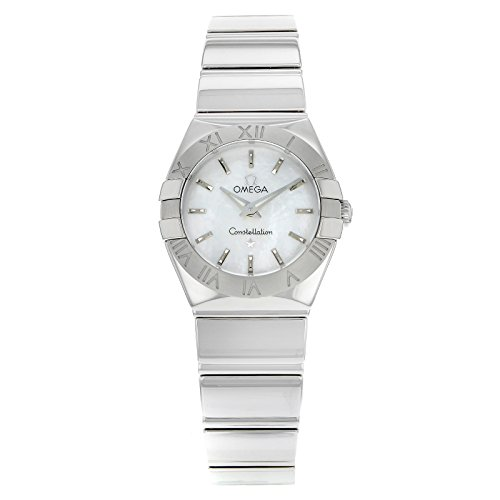 Omega Constellation 123.10.24.60.05.002 roestvrij staal Quartz dameshorloge