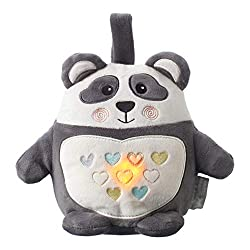 85 Percent of all babies sleep better with a light and sleep sound aid. Pip the Panda is a is a cute and cuddly night-time companion which will help you and your baby get a good night's sleep Rechargeable via USB - you no longer need to constantly bu...