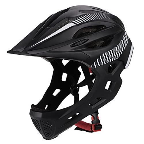 ARCH Casco integral para niños, casco de seguridad infantil, con luz trasera...
