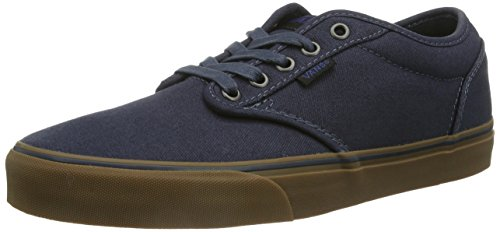 Vans Men's Atwood (12 oz Canvas) Navy/Gum Skate Shoe 9.5 Men US
