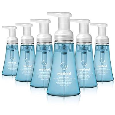 Method Foaming Hand Soap, Sea Minerals, 10 Fl Oz (Pack of 6)