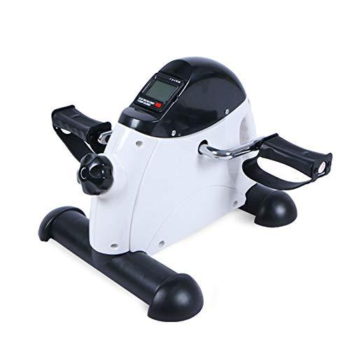RUIVE Mini Bike Eléctrica, Ejercicio Suave para Piernas Y Brazos, Pedaleo Asistido con Motor O Manual, Aparatos para Hacer Ejercicio Casa con Pantalla LCD