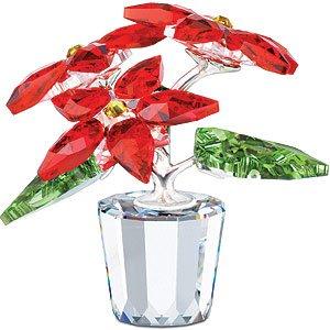 SWAROVSKI Crystal Poinsettia Flowerpot