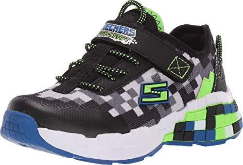 Skechers 400000L/BBLM Mega-Craft Kinder Jungen Sneaker Turnschuhe Halbschuhe schwarz/Mehrfarbig, Größe:30, Farbe:Mehrfarbig