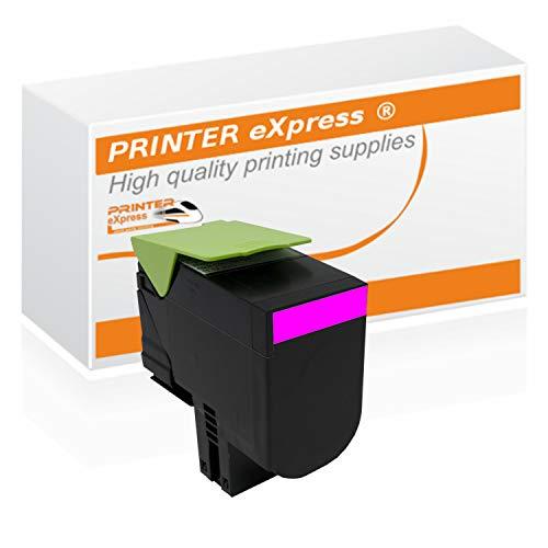 Printer-eXpress Toner ersetzt Lexmark 71B20M0 für CS317 CS317DN CS417 CS417DN CS517 CS417DE CX317 CX317DN CX417 CX417DN CX517 CX417DE Magenta