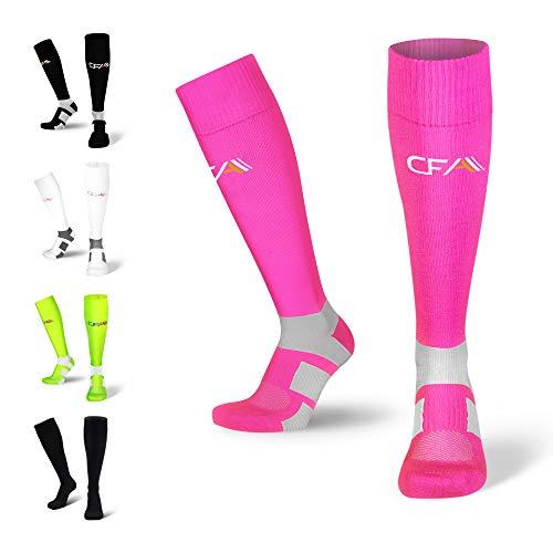 CFA skarpety uciskowe ze stopniowaną kompresją dla mężczyzn i kobiet | Idealne do uprawiania sportu | Model do kolan | wsparcie kostki i łuku | duński design | Wyprodukowano w Europie (XL)