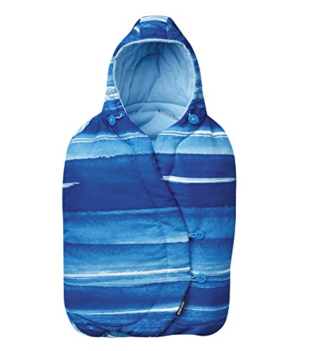 Maxi-Cosi 73509550 Pebble und Pebble Plus Fußsack, watercolour blue